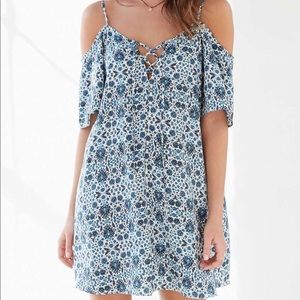 Urban Outfitters Ecoté cold shoulder dress